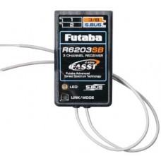 Futaba R6203SB 2.4GHz FASST Micro S.Bus Receiver