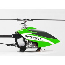 Kasama Srimok ECO 90N 2010 Kit with Painted Canopy and Flybarless Head