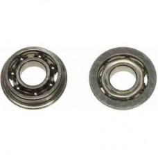 0508-1  m4 x 9 x 2.5 Flanged Ball Bearing