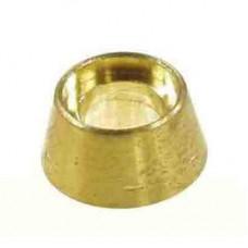 0546-10  Brass Fan Collets Set