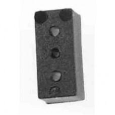0818-3  Rectangular mounting Block
