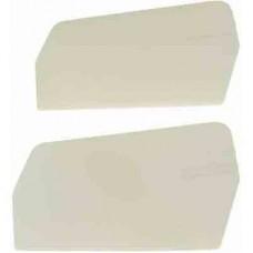 X-Cell 3 D Paddles - 20 grams - WHITE