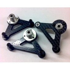 124-126  Graphite Bell crank Set