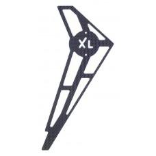 124-84  C/F Vertical Fin