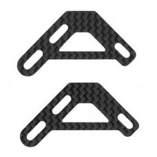 126-72  C/F Upper Shroud Brackets