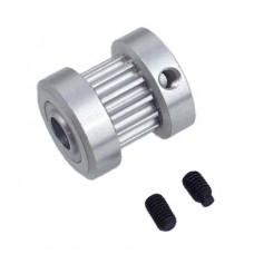 127-15  CNC Aluminium 13t T/R Pulley