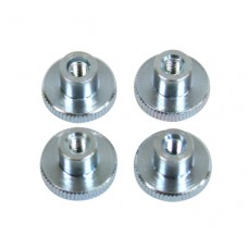 129-46  m3 Knurled Nuts - Pack of 4
