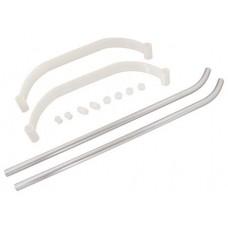 2500-02  Tuf-Strut I / White-Silver (3901)