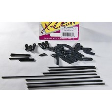 2600-95  Spectra Tempest 3-D Head Rod / Ball Link Set