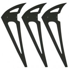 2700-92 Whiplash Vertical Fin - Pack of 3