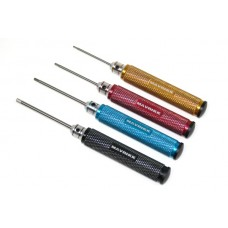 D026 Super Pro Hex Driver Set Straight Tip 4 Bits
